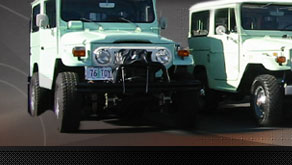 Toyota Land Cruiser Restoration at Restored FJ40
