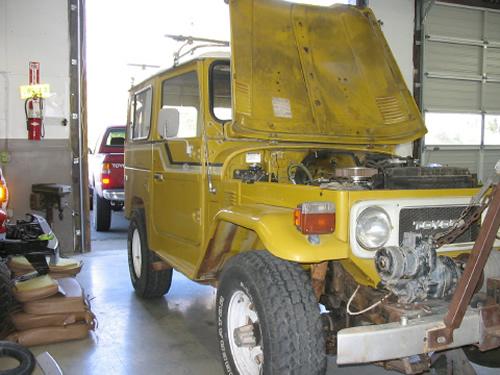 Land Cruiser Restoration Projects